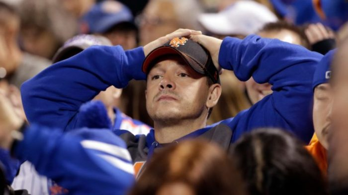 dejected mets fan